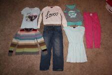 Lot Of 7 Girls Clothing Size 8-9 Medium Gap Kids Shirts Pants Jeans Dress