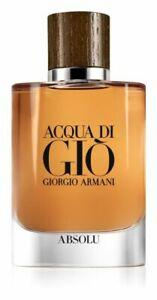 Armane Aqua Di Gio Absolu 75ml EDP for Man - Brand New without Box