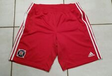 Rare Vintage ADIDAS Chicago Fire MLS 2008 Soccer Shorts Men's 2XL