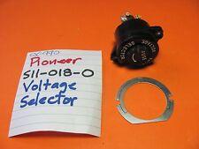 PIONEER S11-018-0 LINE VOLTAGE SELECTOR SX-440 SX-990 SX-1500TD