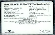 Two Kings in a Cipher - From Pyramids to Projects - New Promo Rap Cassette Tape!