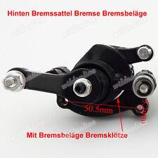 Hinten Bremssattel Bremse Bremsbeläge für 47cc 49cc 2 Stroke PocketBike Minibike