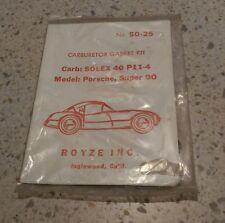 NEW PORSCHE 356B 356SC S90 912 SOLEX 40 PII-4 CARBURETOR GASKET REBUILD KIT