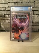 cgc graded marvel comics Thanos 16 9.8 White Pages