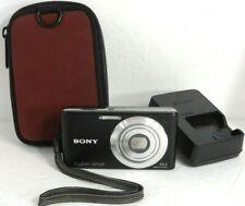 Sony CyberShot W530 14.1MP Digital Camera W/Battery Charger Works & Looks Great