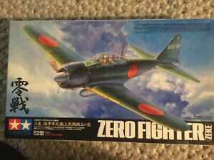 Tamiya Mitsubishi Navy Zero Fighter (Zeke) 52 Item 60309