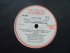 Placido Domingo / Noel Edmonds Easter Hymn Record Year - RCA DEMO / PROMO LB3