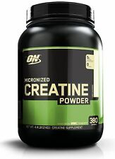 Optimum Nutrition Creatine Powder 2000 Grams Unflavored Micronized Monohydrate
