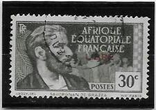 AFRIQUE EQUATORIALE N°  128  OBLITERE
