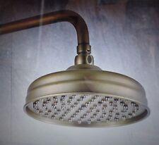 """Rain Shower Head DP-511 Antique Polished Brass 8""""Round"""