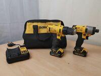 DeWalt DCD710 & DCF815 Drill & Driver Set - AH 72822