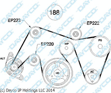 Mitsubishi Triton ML 3.5L 6G74 PULLY BELT TENSIONER SET Jul 2006 - Aug 2009