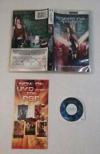 Resident Evil: Apocalypse (UMD, 2005) PSP Zombie Movie Milla Jovovich
