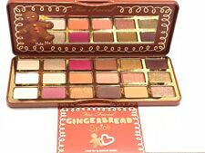 TOO FACED Gingerbread Spice EYESHADOW PALETTE NEW wBOX FREE SHIP  100% Authentic