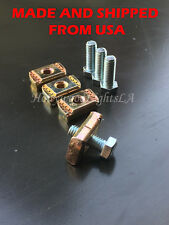 4PCS Titan Frontier Xterra Bed Rail Nuts Utili Track Cargo Tie Down Mount
