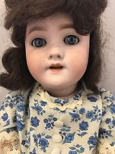 SIMON & HALBIG ANTIQUE GERMAN DOLL with BISQUE SOCKET HEAD, DOLLY FACE #1079