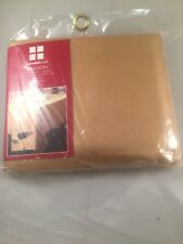 """Essential Home Tablecloth  60 """"x 102"""" Oblong  Gold"""