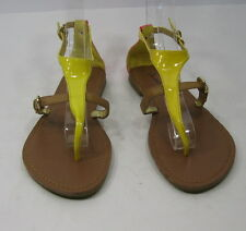 Summer NEW yellow/brown/pink  WOMEN SHOES ROMAN GLADIATOR SANDALS SIZE 6