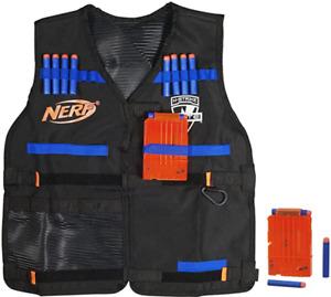 Official NERF Tact. Vest N-Strike Elite Series 2x6-Dart Clips 12-Darts 🎄Gift🎄