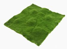 SOFT MOSS MAT - 30cm x 30cm - ARTIFICIAL/FAKE GREENERY - TERRARIUM/CRAFT/GARDEN