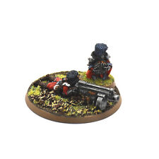IMPERIAL GUARD Vostroyan heavy weapon Bolter Team #5 PRO PAINTED METAL 40K