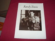 """Randy Travis: Forever & Ever, Amen   7"""" in A4 Press Pack with photo/Insert"""