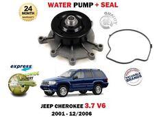 für Jeep Cherokee KJ 3.7 V6 3700cc EKG 2001-12/2006 Neue Wasserpumpe + DICHTUNG