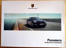 Porsche PANAMERA,libretto di uso e manutenzione,anno 2014.