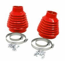 EMPI 9981 DELUXE SWING AXLE BOOT KIT RED PAIR VW BUGGY BAJA BEETLE GHIA TRIKE