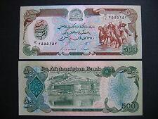 Afghanistan 500 afghanis 1990 (p60b) unc