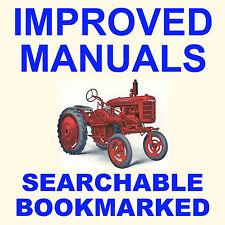 FARMALL A & AV SERVICE MANUAL & PARTS Catalog -2- Tractor Maintenance MANUALS CD