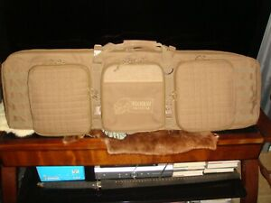 """Voodoo Tactical 42"""" Deluxe Padded Weapon Case,""""Can Carry 2 Rifles & 2 Handguns"""""""