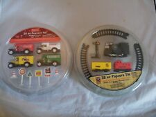 Coca Cola and Lionel Train Christmas Popcorn Tin Toys Only Trucks, Signs, Trains