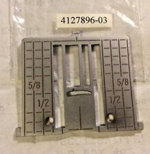 Zig Zag Needle Plate Viking Husqvarna Sewing Machine 4127896-03 for Designer SE!