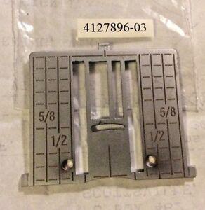 Genuine Zig Zag Needle Plate for Viking Husqvarna Sewing Machine Designer & More