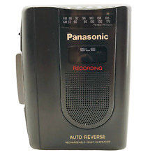 Panasonic RQ-A170 Cassette Player Radio Recorder Tested & Working New Batterys