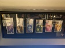 More details for complete set of eighth series swiss bank notes framed uncirculated