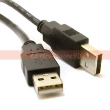 6 ft (approx. 1.83 m) USB 2.0 tipo A macho a macho Cable-Negro