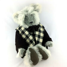 Rare Mohair Plush Bear Jointed Stuffed Animal Clothes Charmant Artist Made OOAK