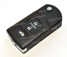 Remote Flip Key case For Mazda 3 6 RX8 MX5 CX-5 CX-9 Divided Key Shell 3BTN