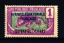UBANGI-SHARI - 1924-1925 - Francobolli del Congo del 1907-1918