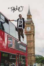 Signed Picture of Dynamo Magician Impossible. Bus Levitation in London. Magic TV