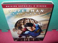 SUPERMAN RETURNS - EL REGRESO - EDIC. 2 DVDS
