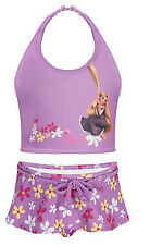 Disney Store Tangled Rapunzel 2 PC. Swimsuit Size 7/8