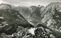 Alte AK Postkarte/Vintage postcard: Blick vom Jennergipfel
