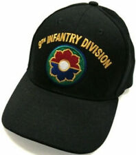 9TH Infantry Divison Awesome black baseball cap, Bill Embroidery, Gift Idea