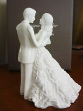 Monique Lhuillier Waterford MODERN LOVE BRIDAL CAKE TOPPER HN 5424 - NEW / BOX!