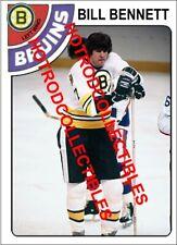 1978-79 TOPPS OPC O Pee Chee Custom Bill Bennett Boston Bruins NHL #589