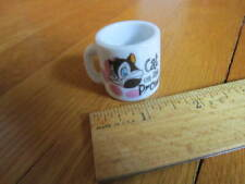 Looney Toons Collectible Pussyfoot Cat on the Prowl Tiny Mug Cup Mini FREE SHIP