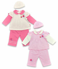 Polyester Floral Outfits & Sets (0-24 Months) for Girls